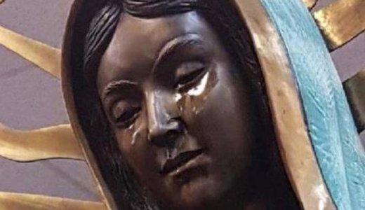 【米国】 聖母の御像の目から、4度目の涙が流れる(2018年9月1日)
