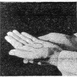手による聖体拝領