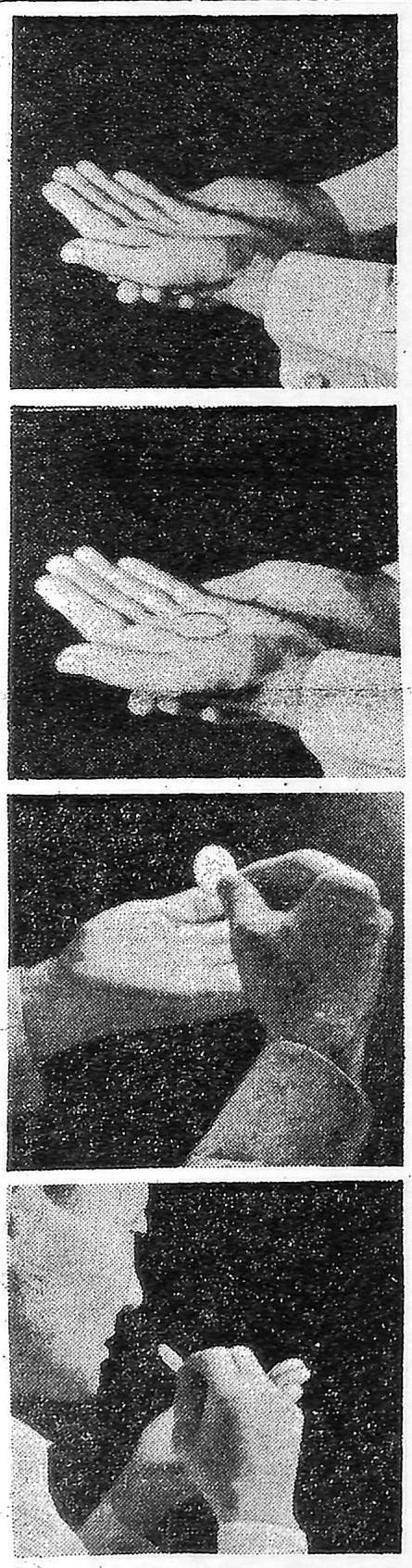聖体拝領に新方式(1970年10月11日付カトリック新聞)