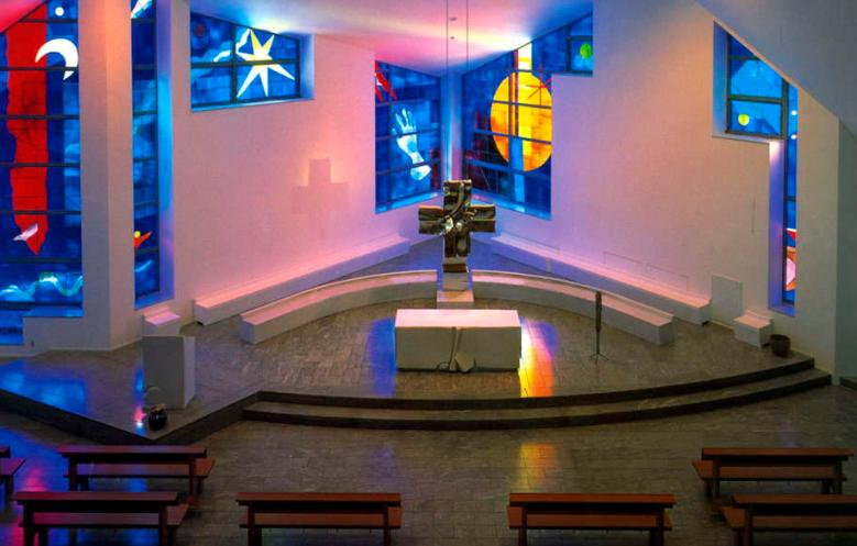 山口サビエル記念聖堂と一つ目内陣