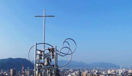 メイソン教会として建て替えられた山口サビエル記念聖堂 ④ 【双塔】