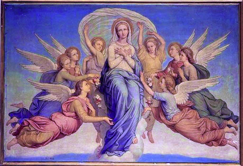 聖母被昇天の御絵
